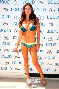 UFC International Fight Week Official Pool Party at LIQUID Pool Lounge at ARIA Featuring: Arianny Celeste Where: Las Vegas, Nevada, United States When...